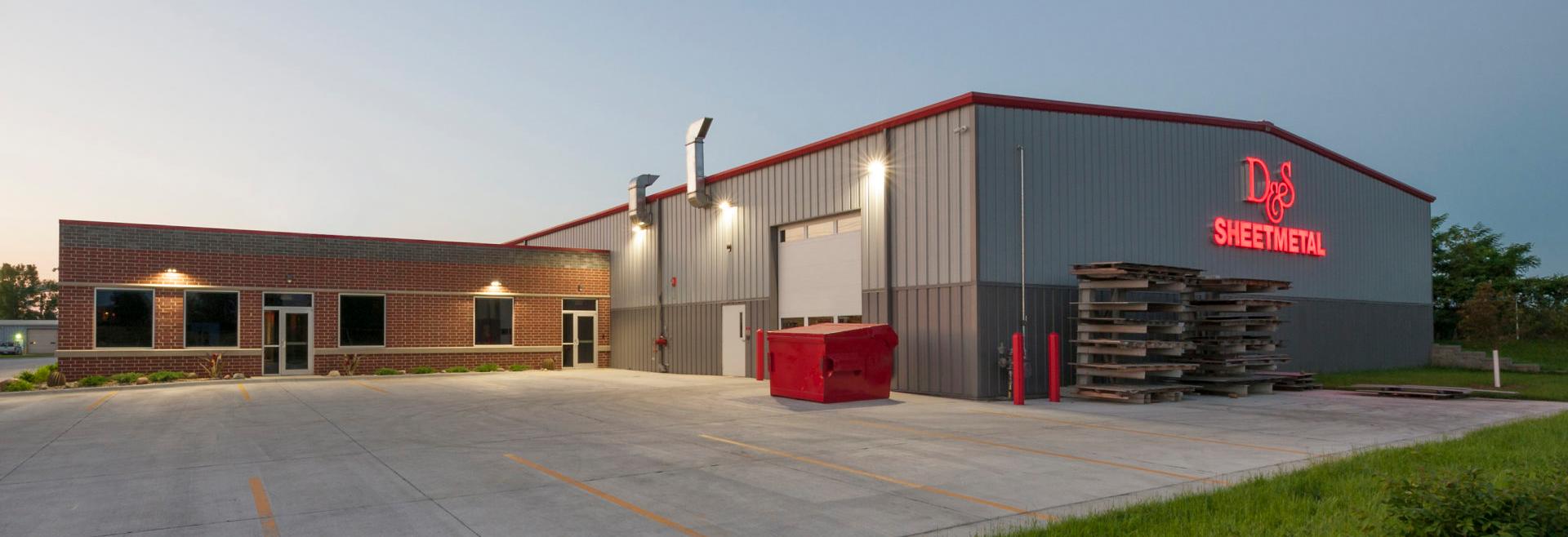 D&S Sheetmetal Warehouse
