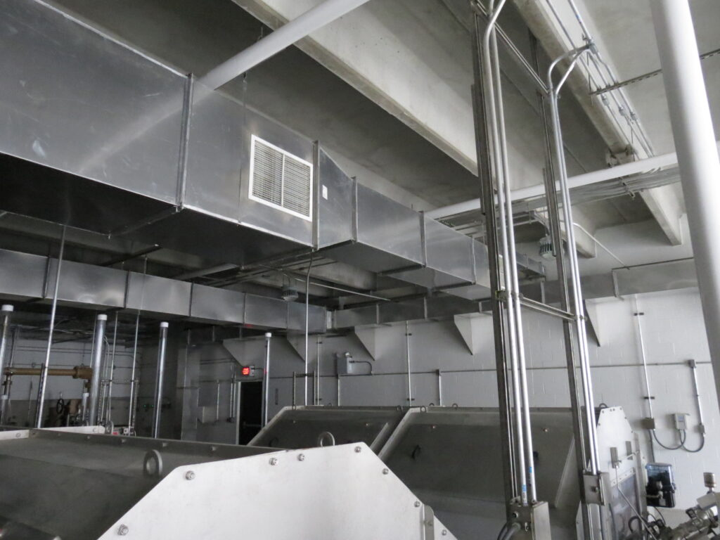 D&S Sheetmetal HVAC project