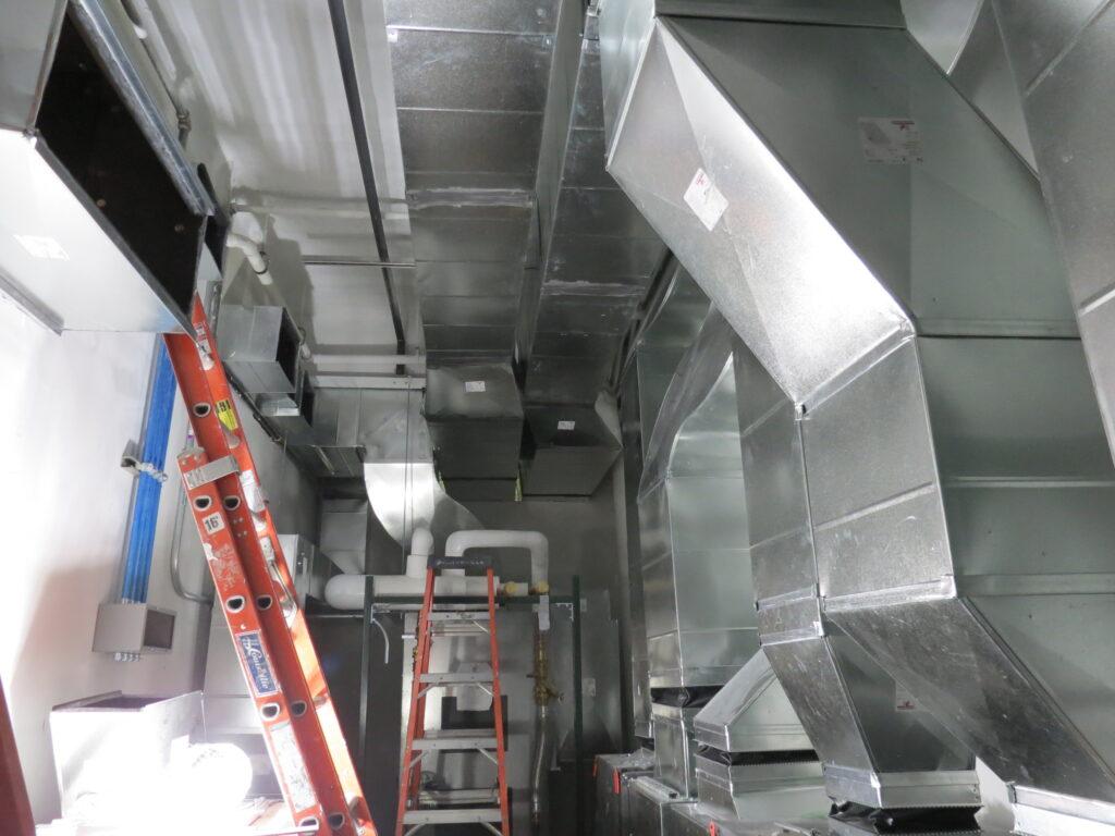 D&S Sheetmetal HVAC Marion Fire Department