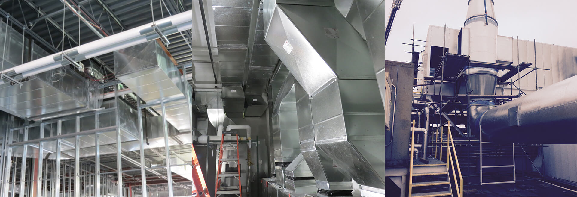 D&S Sheetmetal HVAC Projects