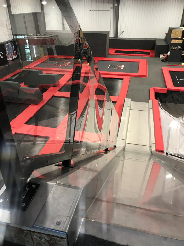 D&S Sheetmetal Victory Sports Interior Project